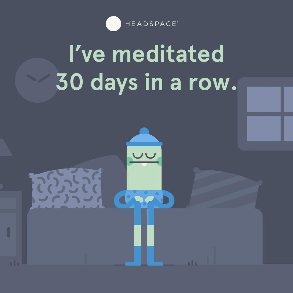 Headspace 30 Days Challenge